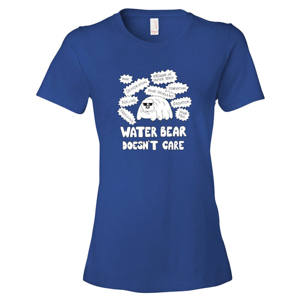 Water Bear Doesn't Care Women's Tee