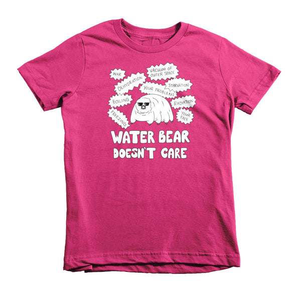 Water Bear Doesn't Care Kids' Tee
