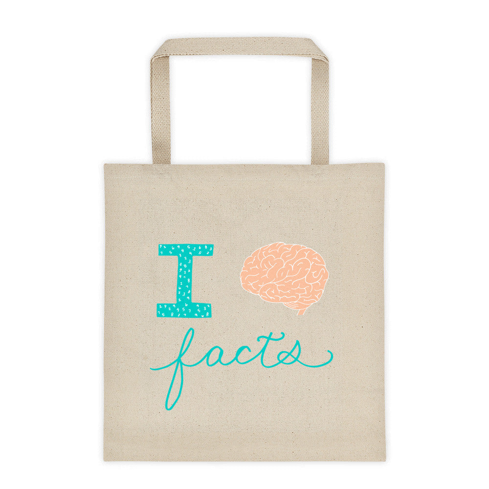 I Brain Facts Tote Bag