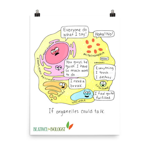 If Organelles Could Talk Poster