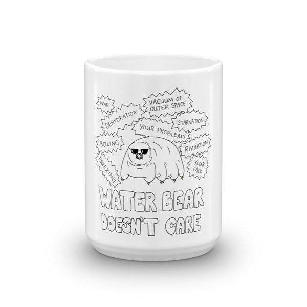 Water Bear Doesn't Care Mug