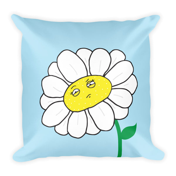 Pollinated Flower Pillow