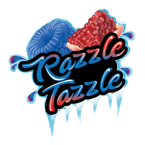 FROSTED - RAZZLE TAZZLE (70VG/30PG)