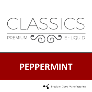 PEPPERMINT (70PG/30VG)