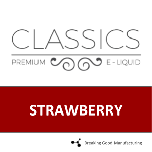 STRAWBERRY (60PG/40VG)