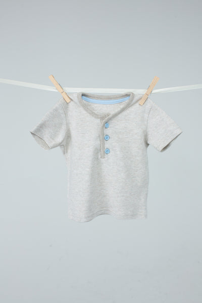 George - Beige and Blue T-shirt