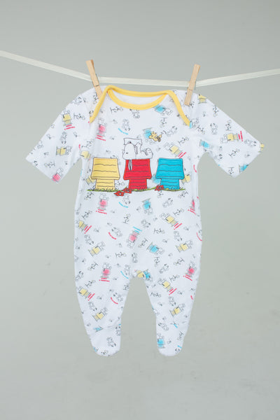 Peanuts - Snoopy Baby Grow