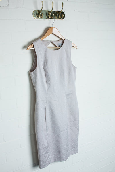 H&M - Ivory Geometric Dress