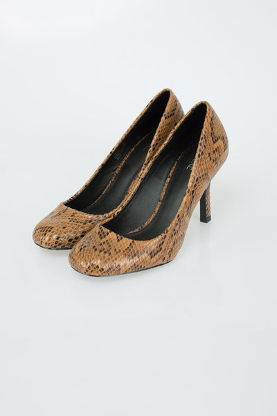 Next - Snakeskin Court Shoes