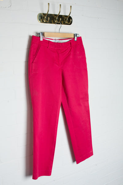 J Crew - Fuchsia Tapered Trousers