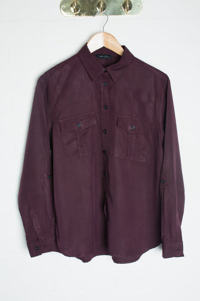 New Look - Plum Shirt