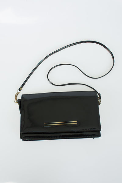 Salisbury - Vintage Black Leather Bag