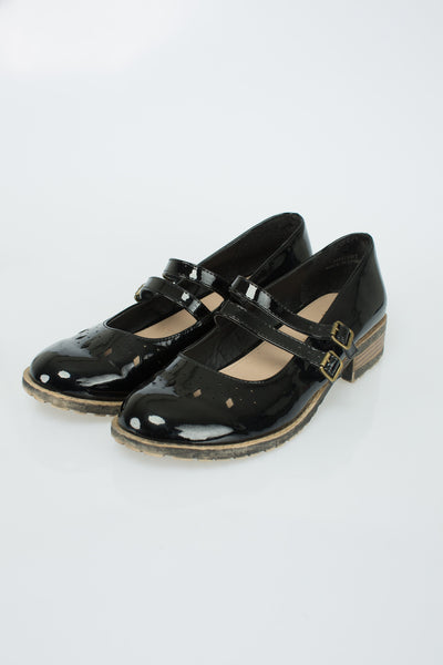 New Look - Patent Buckle Pumps