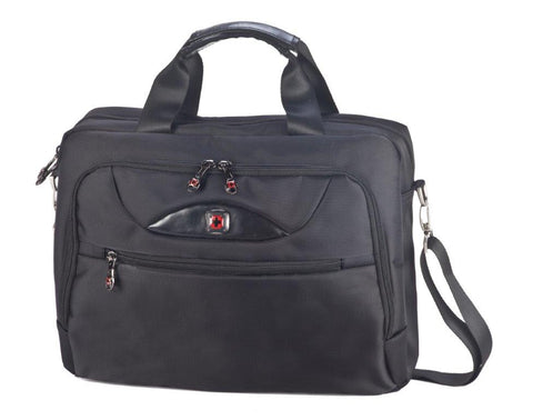 "תיקי גב סוויס - תיק צד סוויס  ויוו תיק צד SWISS GLOBAL BAG    דגם 1501215 VIVO  תא מרופד למחשב נייד ""17"