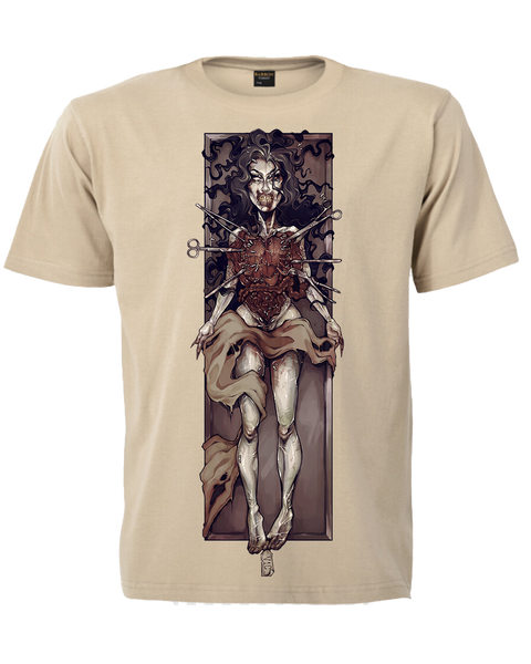 Victoria Ghost Cadaver T-Shirt (Tan)