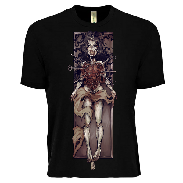 Victoria Ghost Cadaver T-Shirt (Black)