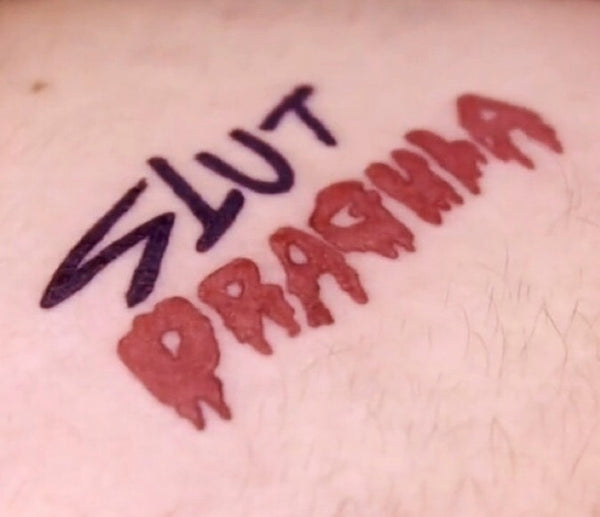 Slut Dragula Tattoo (3 pcs)