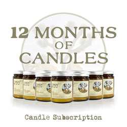 12 Months of Candles