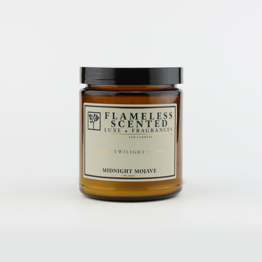 Flameless LED Fragranced Candle - Midnight Mojave