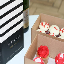Luxury cupcakes and perfume book by Luca Turin