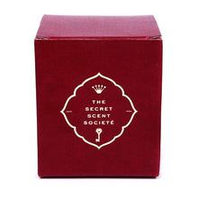 Claret red gift box with gold foil