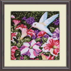 Kit petit point - le colibri 2520