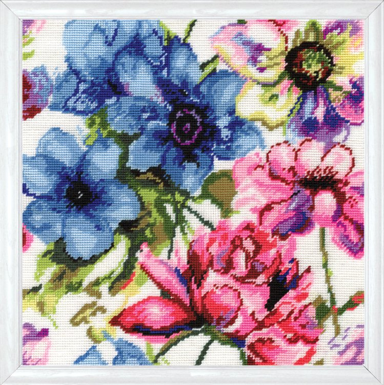 Kit petit point - aquarelle 2619