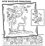 Décalque Aunt Martha's - 4018 - Woodland embroidery