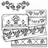 Décalque Aunt Martha's - 3791 - Lovely borders for pillow cases