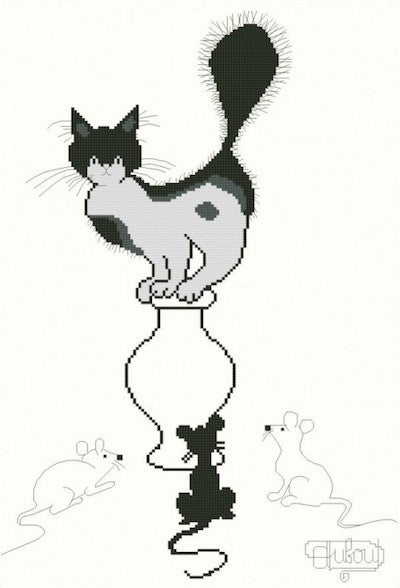 "Collection ""Dubout"" - Chat et souris"