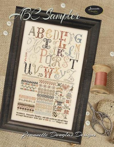 ABC sampler - kit de fils