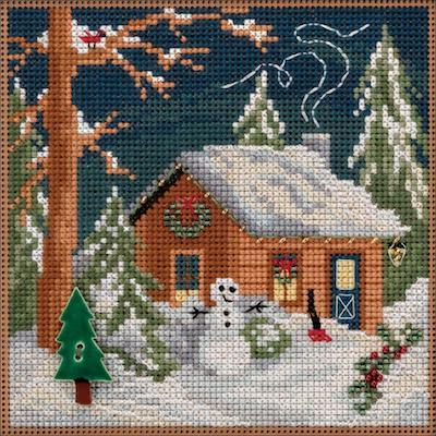 kit à perler - Christmas cabin