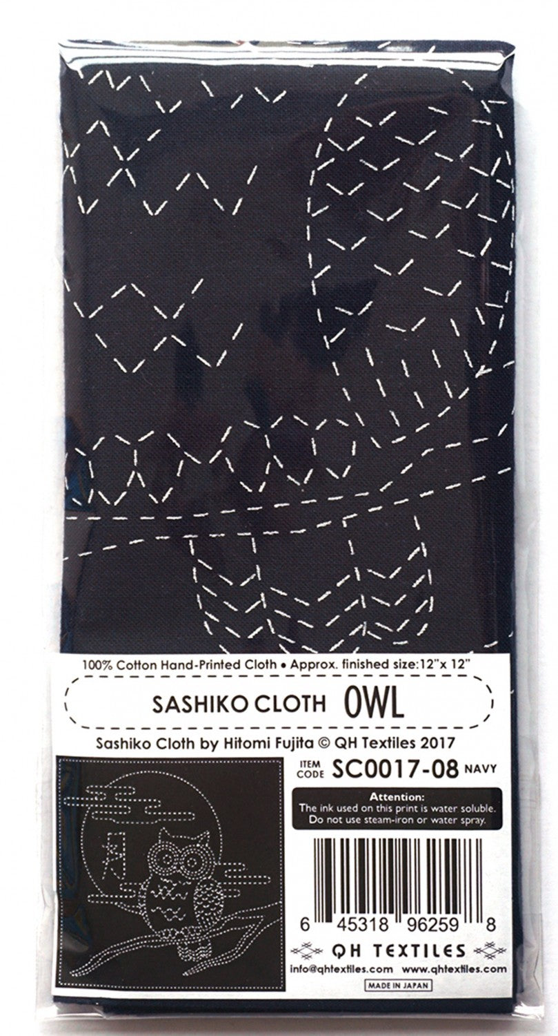 Sashiko Cloth owl