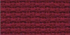 Aida 14 count - Charles Craft - rouge - 15 x 18 pouces