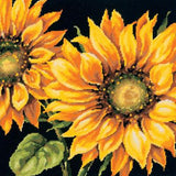 Kit petit point - les tournesols