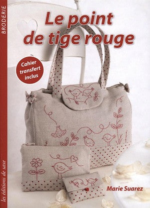 Le point de tige rouge - Marie Suarez