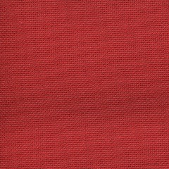 Zweigart - Lugana 25 count - red - coupon 19 x 27 pouces
