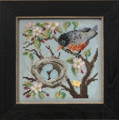 Kit à perler Mill Hill - spring robin