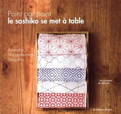 Point par point, le sashiko se met à table