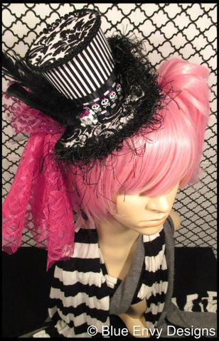 Tall Gothic Lolita Top Hat