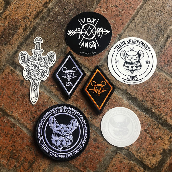 Patch & Sticker Pack