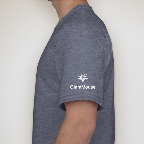 GiantMouse Viking Sword Tee Shirt - GiantMouse Knives - Anso Vox Collaborations