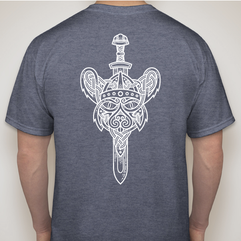 GiantMouse Viking Sword Tee Shirt