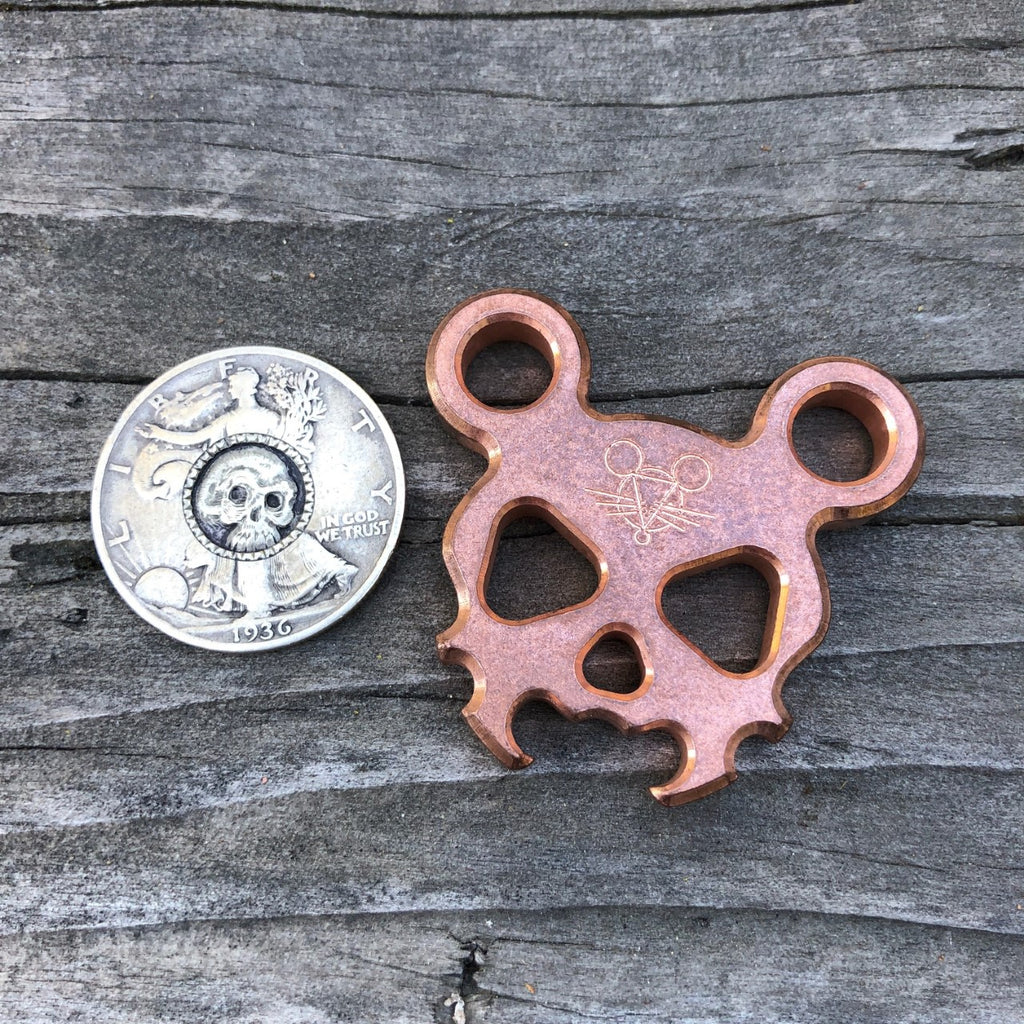 Morbid Mouse Mini - Copper - GiantMouse Knives - Anso Vox Collaborations