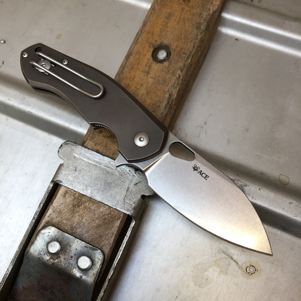 ACE Biblio - Bronze - GiantMouse Knives - Anso Vox Collaborations