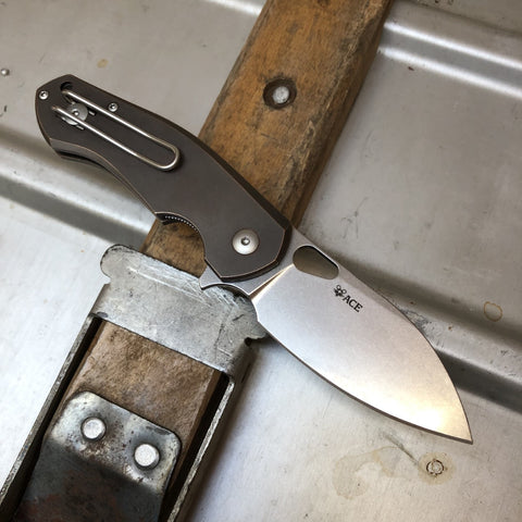 ACE Biblio - Bronze - GiantMouse Knives - Best EDC Knives