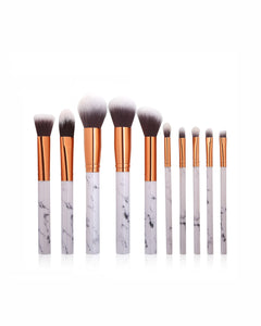 COLOR POP TRAVEL BRUSH SET - MARBLE