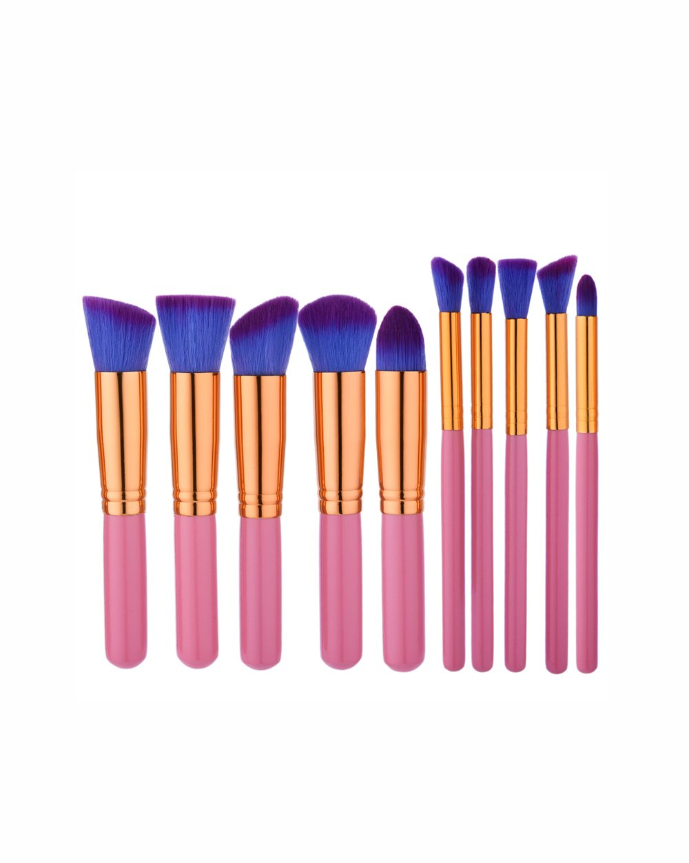COLOR POP TRAVEL BRUSH SET - PINK/BLUE