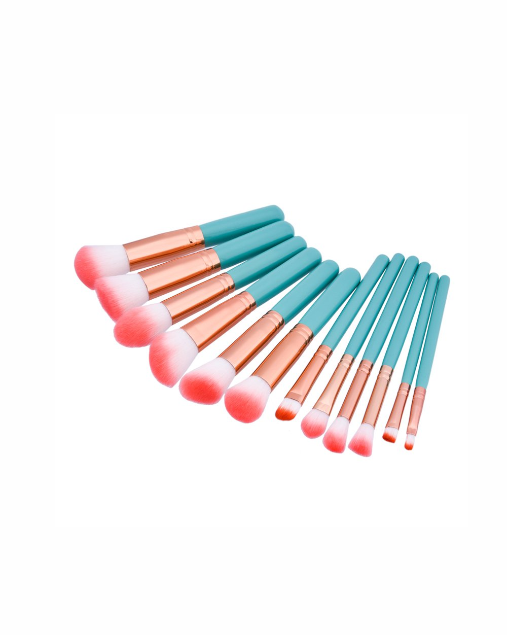 COLOR POP TRAVEL BRUSH SET - TURQUOISE