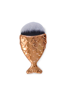 MERMAID MAKEP BRUSH - COPPER